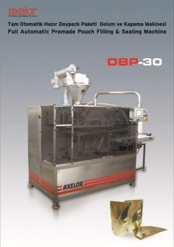PREMADE POUCH FILLING & SEALING MACHINE