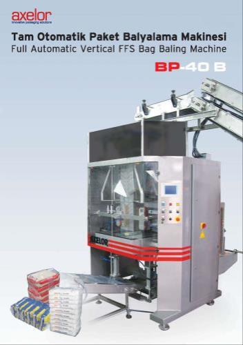 BAG BUNDLING MACHINE