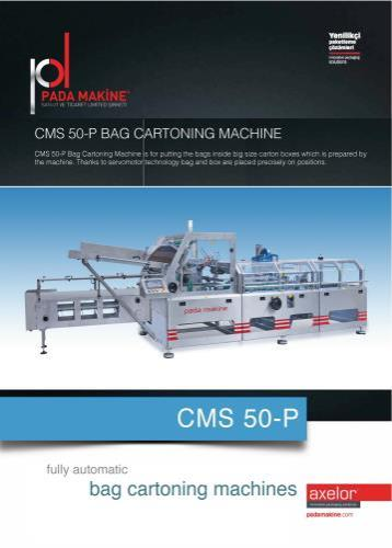 CARTONING MACHINE MANUEL FEEDING